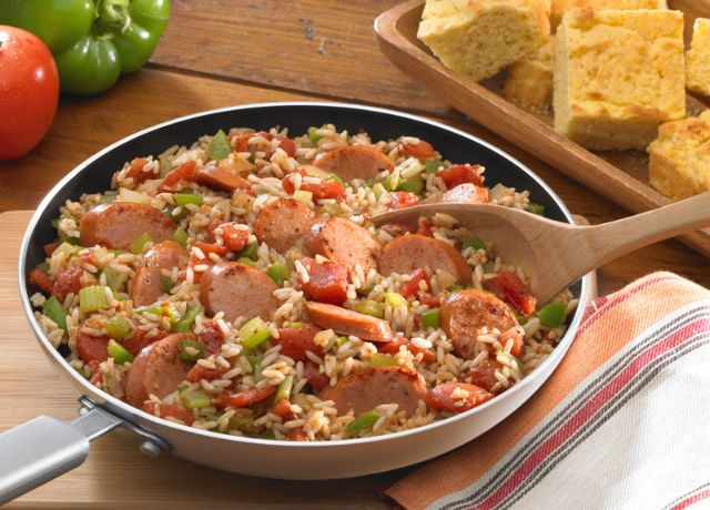 Image of Fully Loaded Jambalaya with Andouille Sausage