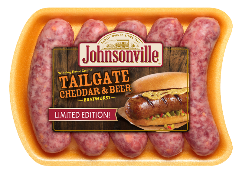 Product Image of Johnsonville Tailgate Cheddar and Beer Brats