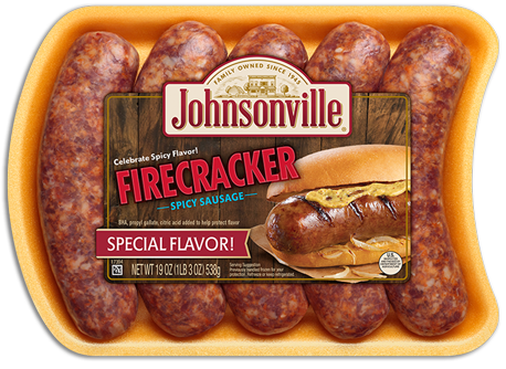 Product Image of Johnsonville Firecracker Brats