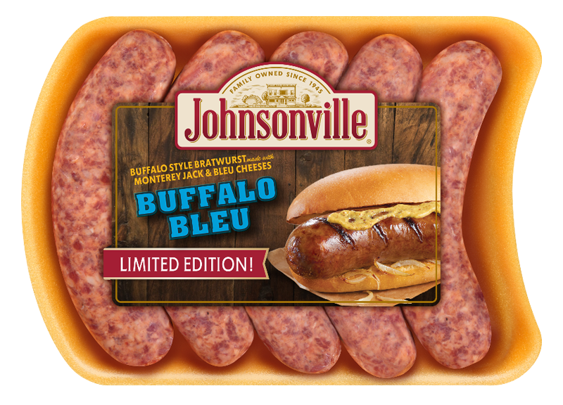 Product Image of Johnsonville Buffalo Bleu Brats (Discontinued Product)