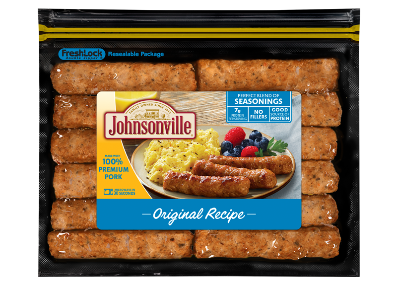 Original Recipe Fully Cooked Breakfast Sausage