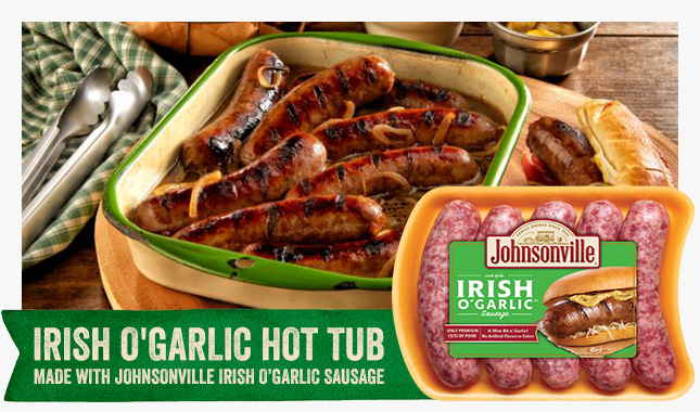 Irish O' Garlic is back for a limited time!