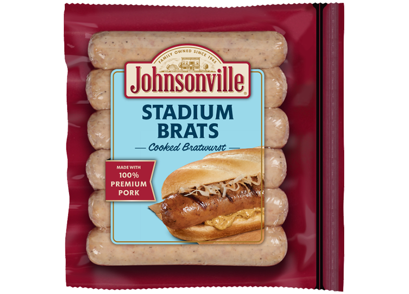Product Image of Johnsonville Stadium Style Cooked Brat Links