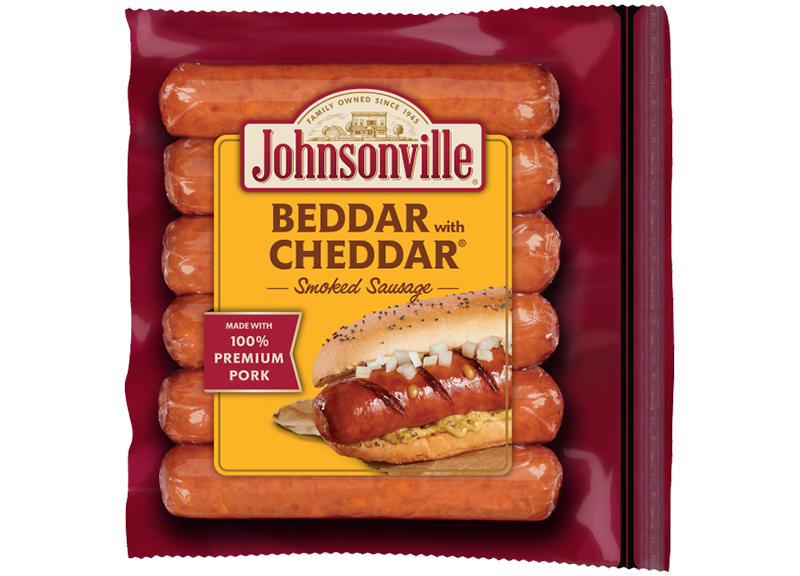 Beddar With Cheddar Smoked Sausage Links Johnsonville