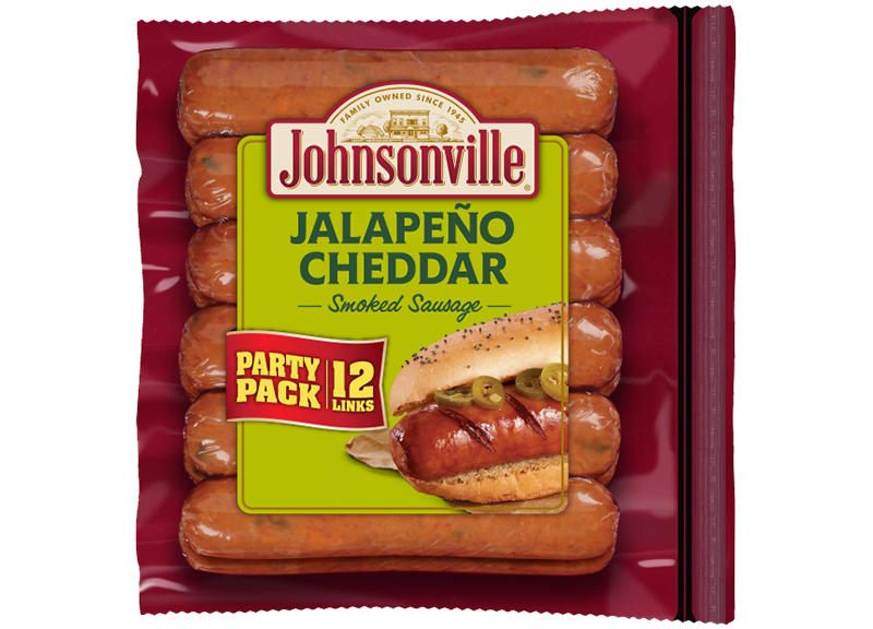 Product Image of Johnsonville Jalapeño and Cheddar Smoked Sausage Links (Party Pack)