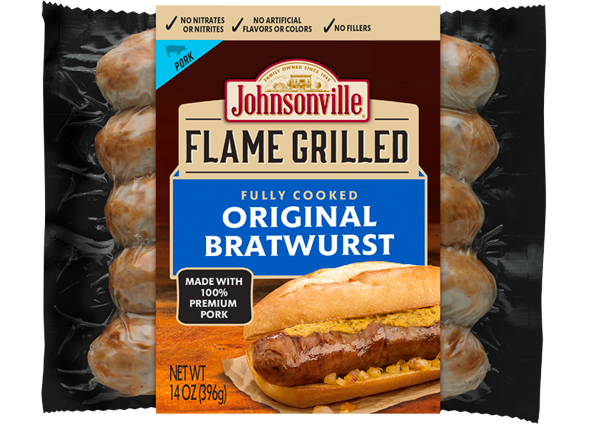 Product Image of Johnsonville Flame Grilled Original Bratwurst
