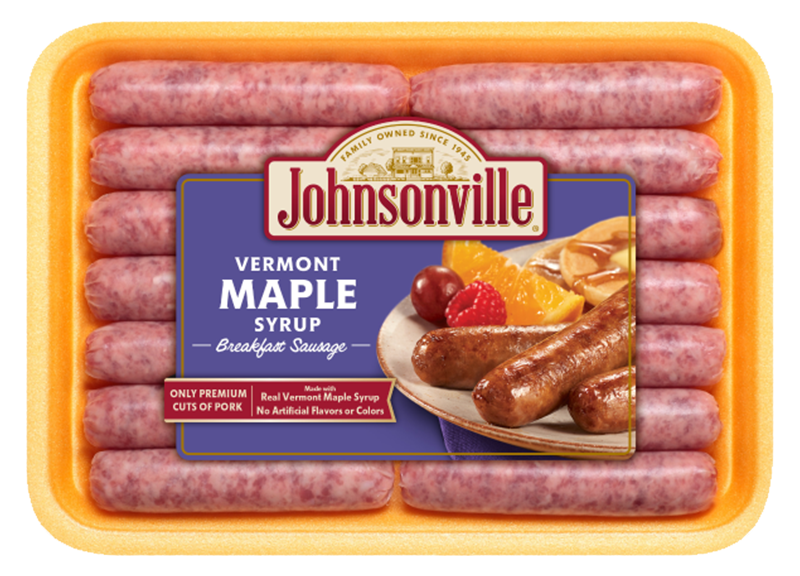 Product Image of Johnsonville Vermont Maple Syrup Breakfast Sausage Links