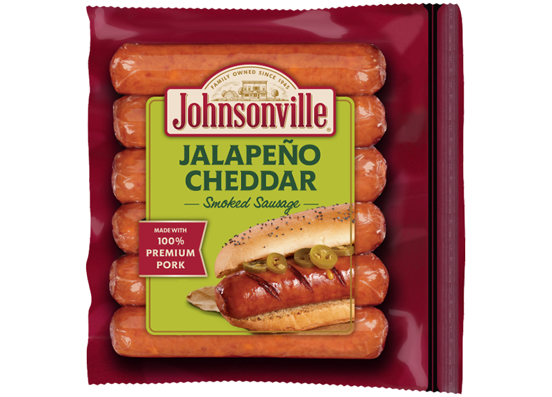 Product Image of Johnsonville Jalapeño and Cheddar Smoked Sausage Links
