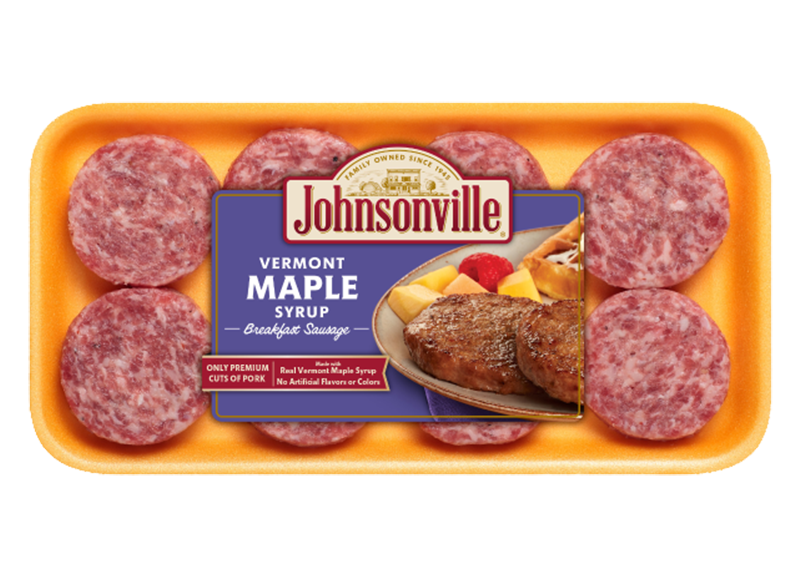 Product Image of Johnsonville 12oz. Vermont Maple Syrup Breakfast Sausage Patties