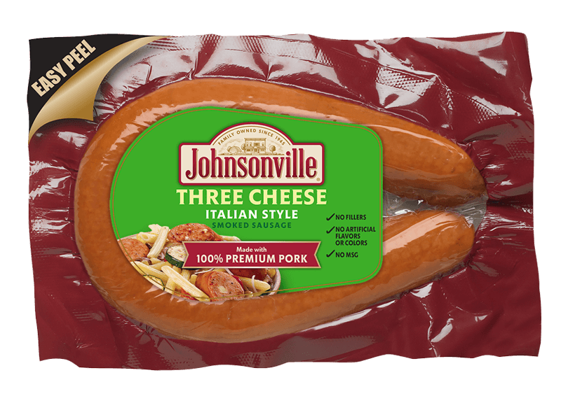 Product Image of Johnsonville Three Cheese Italian Style Rope Sausage