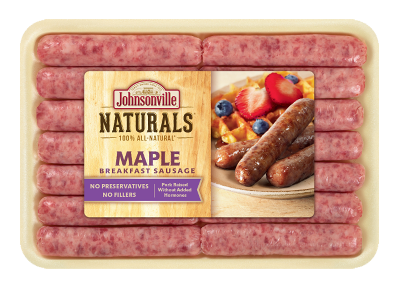 Product Image of Johnsonville Maple Breakfast Sausage