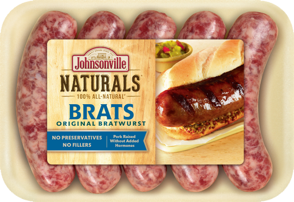 Product Image of Johnsonville Naturals Original Brats