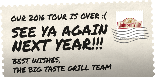 Postcard of Big Taste Grill Tour Over