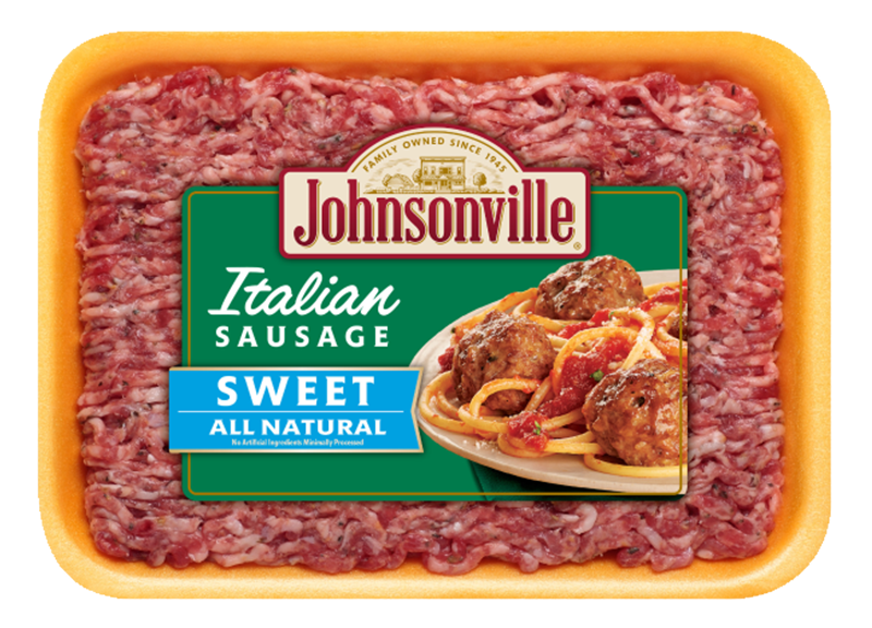 Product Image of Johnsonville All Natural Fresh Italian Sweet Ground Sausage