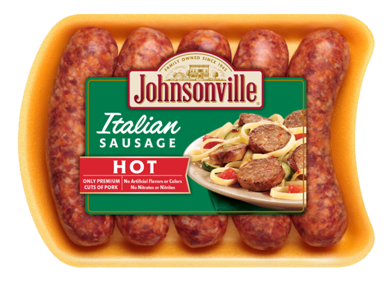 Product Image of Johnsonville Fresh Italian Hot Sausage Links