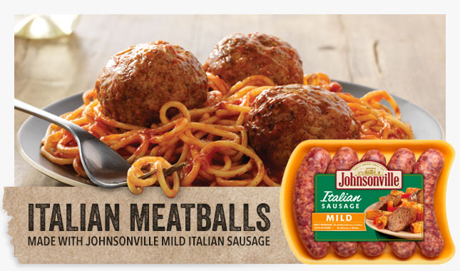 Everyday is Spaghetti Day With Johnsonville