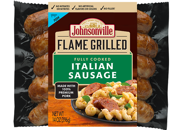 Product Image of Johnsonville Flame Grilled Italian Sausage