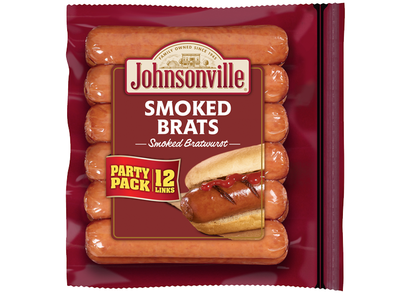 Product Image of Johnsonville Smoked Brats Links (Party Pack)