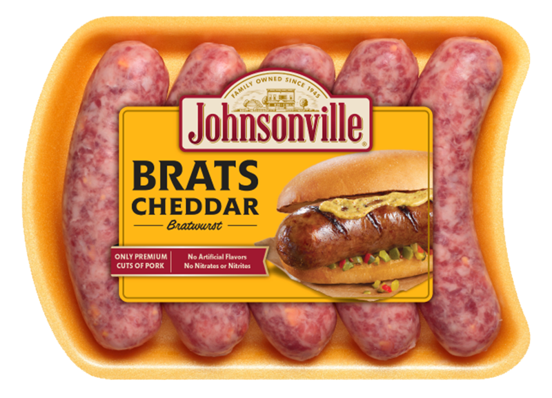 Product Image of Johnsonville Cheddar Brats