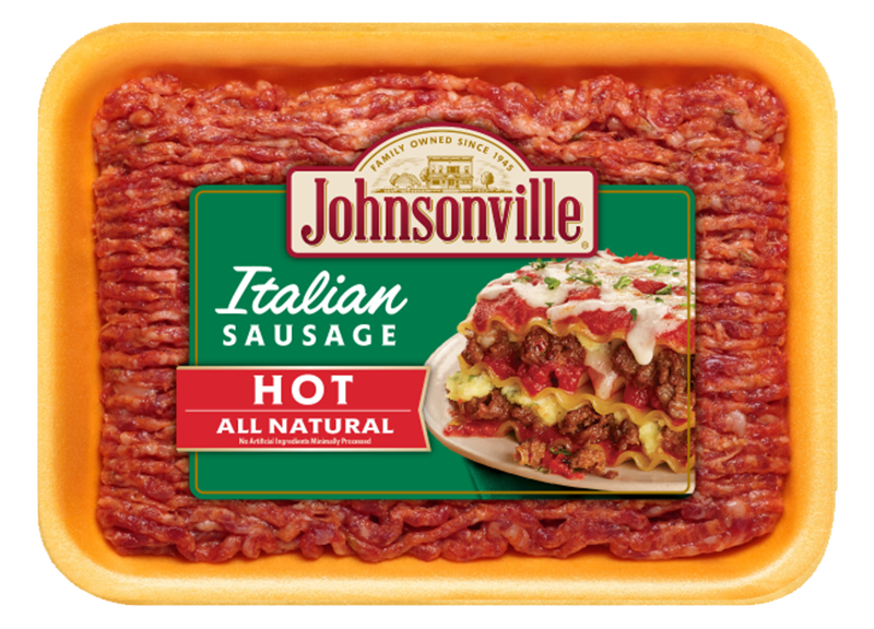 Product Image of Johnsonville All Natural Fresh Italian Hot Ground Sausage