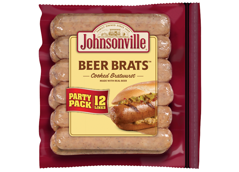 Product Image of Johnsonville Beer Brats Links (Party Pack)