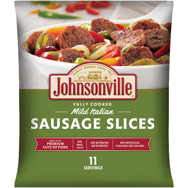 Product Image of Johnsonville Mild Italian Sausage Slices