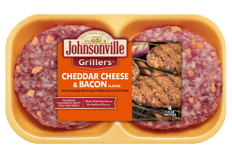 Product Image of Johnsonville Cheddar Cheese & Bacon 16 oz.