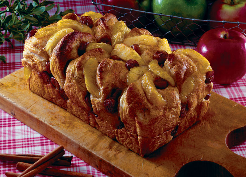 Apple Sausage Biscuit Bread