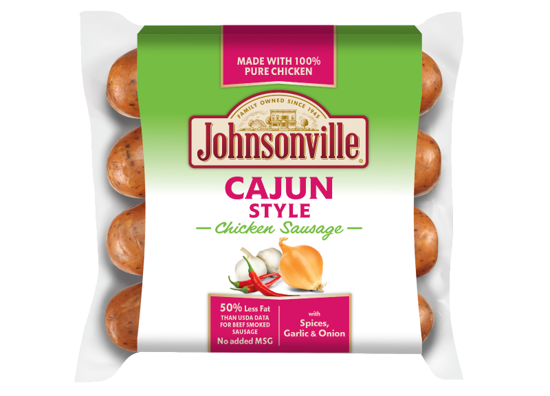 Cajun Chicken  Sausage Links