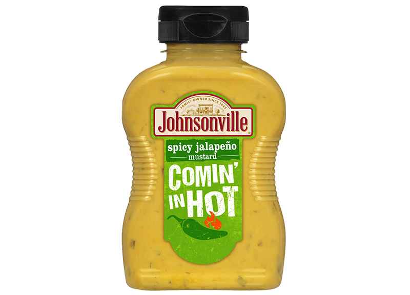 Product Image of Johnsonville Comin' in Hot! Spicy Jalapeno Mustard